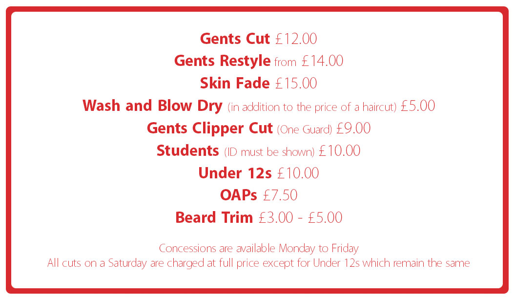 The Happy Barber Aberdeen - Westhill, Great Western Road and Port Lethen
